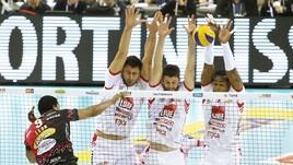 Volley: Superlega, Perugia fa suo il big match con Civitanova