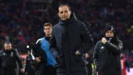 Bologna-Juventus, Allegri: «Supercoppa? Diversi assenti ma siamo pronti»