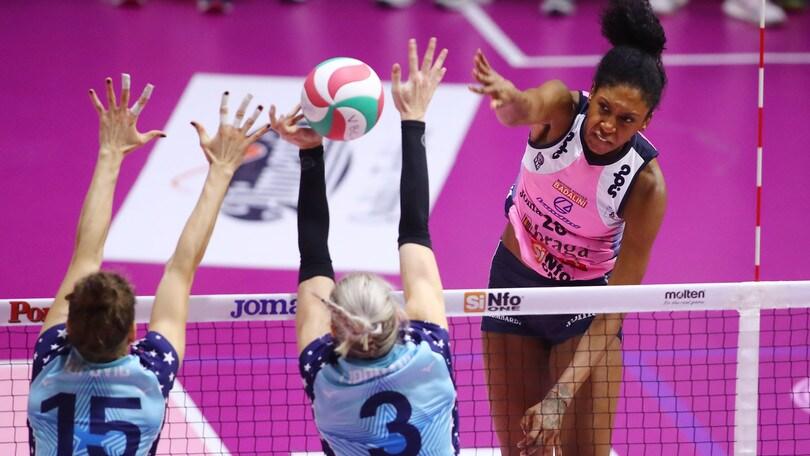 Volley: A1 Femminile, al PalaRadi la spunta Casalmaggiore