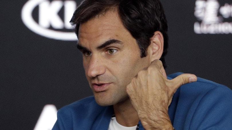 Tennis, Australian Open, Federer: «Mi sento fortunato»