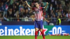 Atletico Madrid, sit-in dei tifosi per Godin: «Resta con noi»
