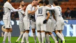 Coppa Italia Inter-Benevento 6-2, il tabellino