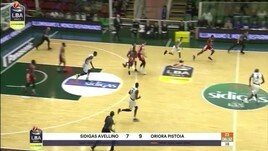 Sidigas Avellino-Oriora Pistoia 82-78