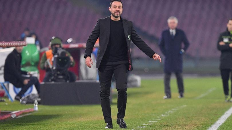 Coppa Italia Sassuolo, De Zerbi: «Presi due gol evitabili, ma sono contento»
