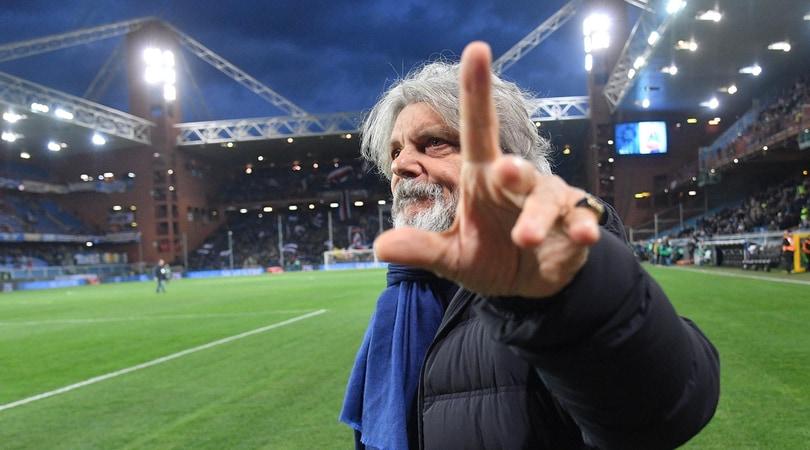 Sampdoria Ferrero chiede scusa a Genova Una città magica