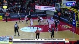 Openjobmetis Varese-Segafredo Virtus Bologna 79-86