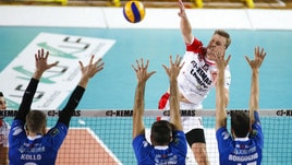 Volley: A2 Maschile, Girone Bianco, vincono Brescia e Mondovì, risorgono Roma e Lamezia