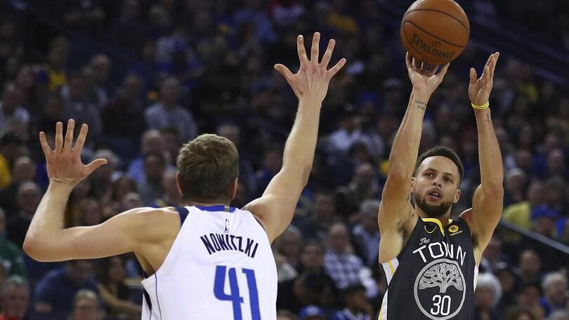 NBA, Steph Curry punta Allen e Miller nella classifica all time delle triple