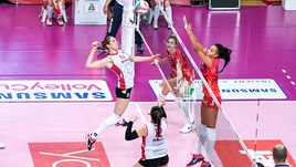 Volley: A1 Femminile, vittorie da tre punti per le prime della classe