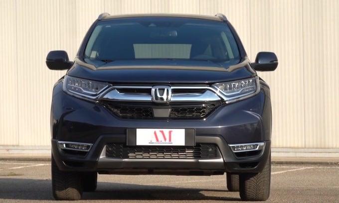 Honda CR-V, la videoprova