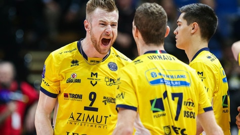 Volley: Champions League, Perugia, Civitanova e Modena  in campo per la 3a giornata