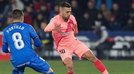 Barcellona, Jordi Alba: «Il mio futuro dipende dal mio rendimento»