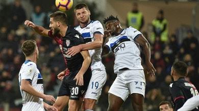 Coppa Italia Cagliari-Atalanta 0-2, il tabellino