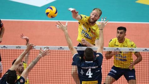 Volley: Superlega, domani l'anticipo fra Castellana Grotte e Milano