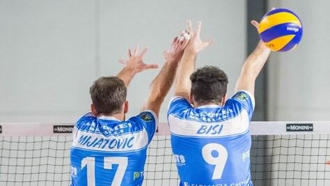 Volley: A2 Maschile, mercoledì sera i Quarti di Coppa Italia