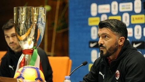 Milan, Gattuso: «Higuain non mi ha detto che andrà via»