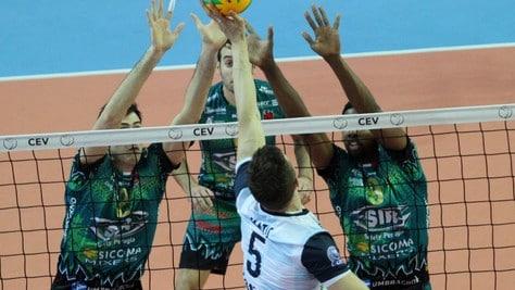 Volley: Champions League, Perugia torna con i tre punti dalla Turchia
