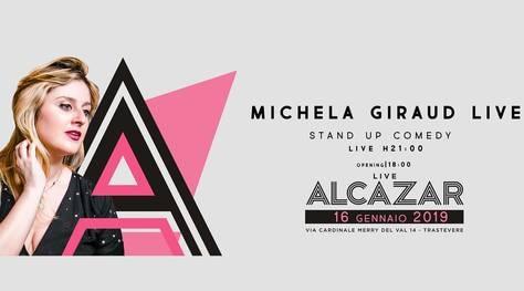 Michela Giraud e altri animali, il 16 gennaio all'Alcazar