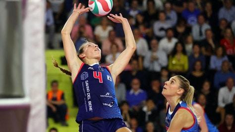 Volley: Coppa Italia A1 Femminile, Scandicci espugna il Mandela Forum