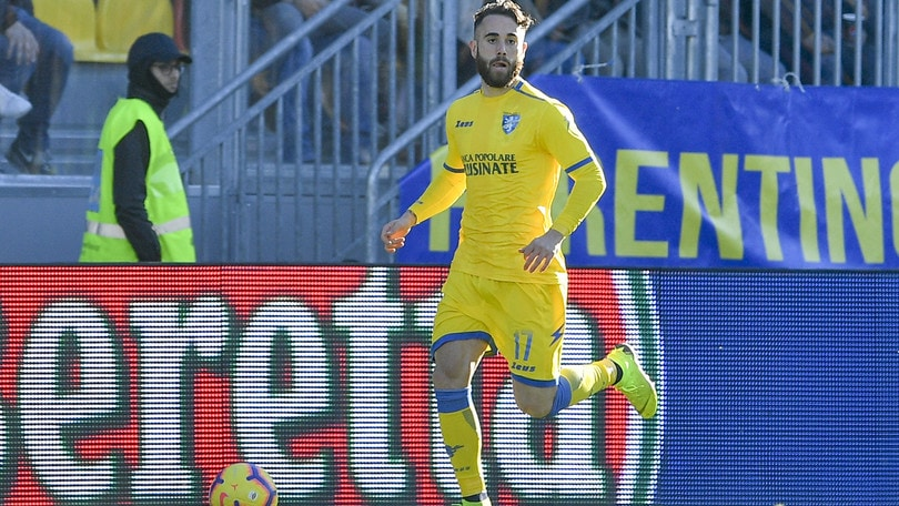Serie A Frosinone, distrazione muscolare per Zampano