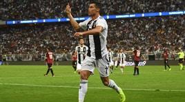 Juventus-Milan 1-0: Cristiano Ronaldo regala la Supercoppa ai bianconeri