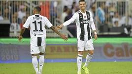 Juventus, i convocati per il Genoa: out Ronaldo e Douglas Costa