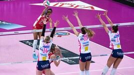Volley: Coppa Italia Femminile, Novara, Conegliano e Busto ipotecano le semifinali