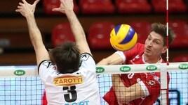 Volley: Coppa Italia A2 Maschile, in semifinale Bergamo, Piacenza, Brescia e Mondovì