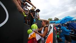 Tennis, Australian Open: Camila Giorgi va veloce