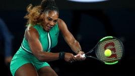 Australian Open 2019: Serena Williams dà spettacolo contro Eugenie Bouchard