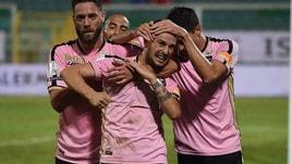 Serie B: Palermo-Salernitana, quote in discesa per i rosanero