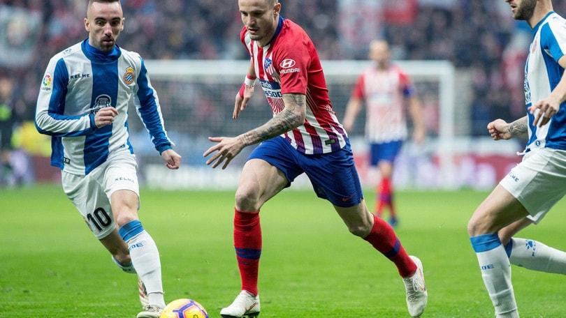 Atletico in ansia per l'infortunio di Saul Niguez: può saltare la Juve