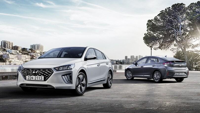 Hyundai Ioniq 2019, novità in gamma