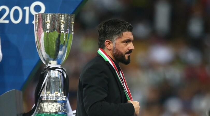 Milan, Gattuso squalificato per un turno: «Parole offensive e insinuanti all'arbitro»