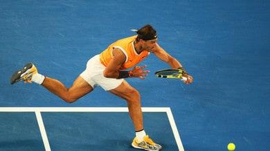 Tennis, Australian Open: Nadal c'è, quota quarti a 1,15