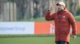 Di Francesco:«Dzeko favorito su Schick. Mercato? Mi fido di Monchi»