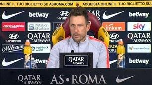 """Di Francesco: """"Florenzi e De Rossi ancora fuori"""""""