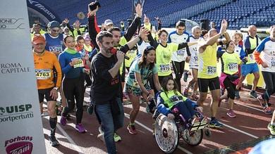I giovani, la StrAntirazzismo per i diritti e i valori dello sport, dedicata a Samia