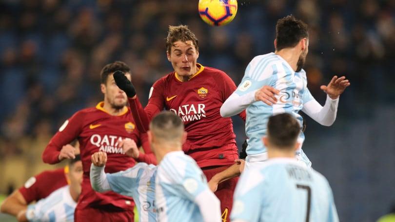 Coppa Italia, Fiorentina-Roma posticipata alle 18.15
