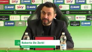 """De Zerbi: """"Razzismo, io contro la chiusura dello stadio"""""""