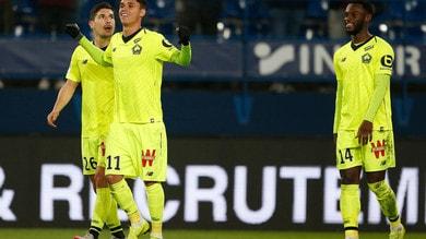Ligue 1, il Lilla batte in rimonta l'Amiens e consolida il secondo posto