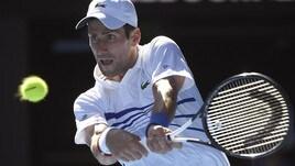 Tennis, Australian Open: vince Djokovic, esce Fognini