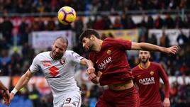 Serie A Roma-Torino 3-2, il tabellino