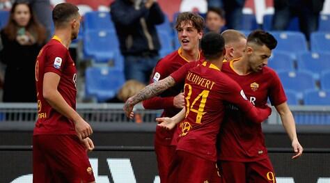 Roma-Torino 3-2, El Shaarawy spegne la rimonta granata: Di Francesco al 4° posto