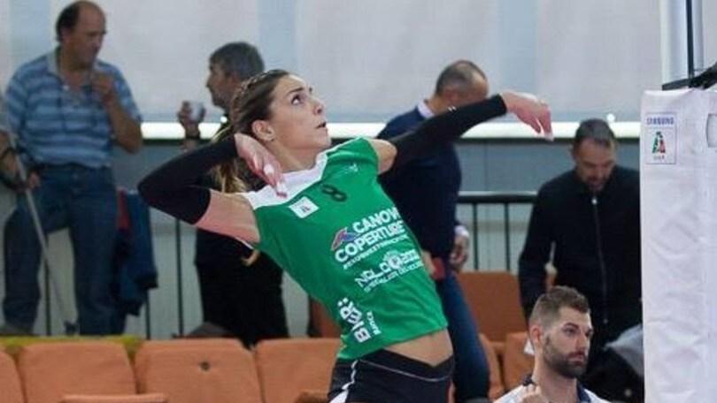 Volley: A2 Femminile, Cutrofiano abbraccia Claudia Provaroni