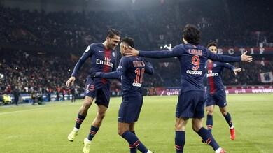 Ligue 1, Psg show: 9-0 al Guingamp, Monaco ko in casa