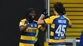 Serie A, Udinese-Parma 1-2: Okaka non basta contro Inglese e Gervinho