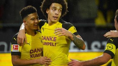 Bundesliga: successo del Borussia Dortmund a Lipsia, bene Eintracht e Monchengladbach