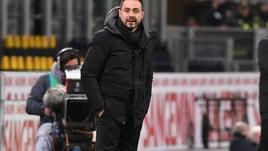 Serie A Sassuolo, De Zerbi: «Genoa? Decidiamo se fare il salto di qualità»