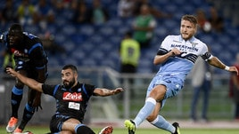 Diretta Napoli-Lazio ore 20.30: formazioni ufficiali e dove vederla in tv